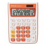 Калкулатор Rebell SDC912 stylish, 12 разряден дисплей, бяло/оранжев image