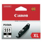 Касета за Canon PIXMA iP7250/MG5450/MG6350 - CLI-551BK-XL - Black - заб: 4 400k image