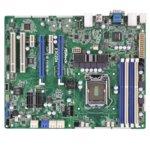 Дънна платка за сървър ASRock Rack E3C224, LGA1150, DDR3 ECC UDIMM, 3x LAN1000, 4x SATA 6Gb/s, 2x SATA 3Gb/s, 2x SATA 6Gb/s, RAID 0, 1, 5, 10, RAID 0, 1, 2x USB 3.0, ATX  image