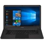 "Лаптоп Prestigio SmartBook 141 C2 (PSB141C02ZFH_BK_CIS), двуядрен Apollo Lake Intel Celeron N3350 1.1/2.4 GHz, 14.1"" (35.81 cm) IPS дисплей (Mini HDMI), 4 GB RAM, 32 GB SSD, USB 3.0, Windows 10 Home, 1.5 kg image"