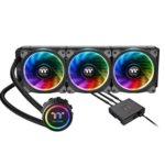 Водно охлаждане за процесор Thermaltake Floe Riing RGB 360, съвместимост със Intel 2066/2011-3/2011/1366/1156/1155/1151/1150 & AMD TR4/AM4/FM2/FM1/AM3+/AM3/AM2+/AM2 image