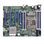 Дънна платка за сървър ASRock Rack EPC612D8A, LGA2011, DDR4 RDIMM and LRDIMM, 3x LAN1000, 6x SATA 6Gb/s, 4x sSATA 6Gb/s, 2x SATA3 6Gb/s, RAID 0, 1, 5, 1, 2x USB 3.0, ATX image