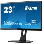 """Монитор Iiyama Prolite XUB2390HS-B1, 23""""(58.42 cm) IPS панел, Full HD, 5ms, 5 000 000:1, 250 cd/m2, HDMI, DVI, VGA image"""