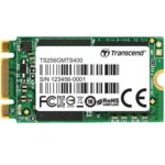 SSD 256GB, Transcend MTS400S, SATA 6Gb/s, M.2, скорост на четене 560MB/s, скорост на запис 460MB/s image