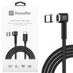 Кабел XtremeMac Magnetic USB C(м) към USB C(м), 2m, черен image