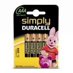 Duracell SIMPLY 1.5V LR3 4PACK