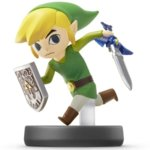 Фигура Nintendo Amiibo - Toon Link No.22 [Super Smash] image
