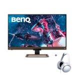 BenQ EW3280U + MDR-XD150