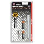 Фенер Mini MAGLITE LED, 2x батерии ААА, 87lm, водоустойчивост, блистер, бял image