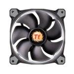 Вентилатор 140mm, Thermaltake Riing 14 RGB, 3-pin, 1500 rpm, бял image