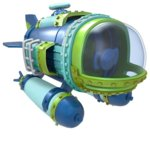 Фигура Skylanders SuperChargers Dive Bomber Vehicle, за PS3/PS4, XBOX 360/XBOX ONE, Wii/Wii U, 3DS image
