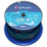 CD-R VERBATIM 52X 700MB EP ОП.50