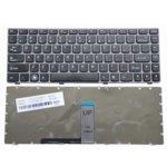 Клавиатура за лаптоп Lenovo, съвместима със серия IdeaPad Z370, черна рамка image