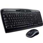 Комплект клавиатура и мишка Logitech Wireless Combo MK330, безжични, USB, черни image
