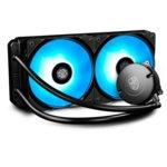 Водно охлаждане за процесор Deep Cool MAELSTROM 240 RGB, съвместимост с Intel LGA2066/2011/-v3/1366/1156/1155/1151/ 1150 & AMD AM4/AM3(+)/AM2(+)/FM2(+)/FM1 image