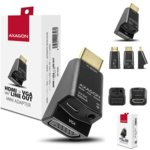 Преходник AXAGON, RVH-VGAM HDMI, от VGA към HDMI A(M), черен image