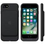Калъф за Apple iPhone 7, Smart Battery Case, еластомер, Apple, с вградена батерия, черен image