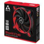 Arctic BioniX F140 Red (ACFAN00095A)