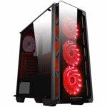 Кутия Xigmatek Astro EN40858, ATX / Mini ITX / Micro ATX, 1x USB 3.0 / 2x USB 2.0, черенa, без захранване image