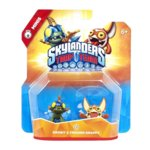 Skylanders Trap Team - Drobit and Trigger Snappy