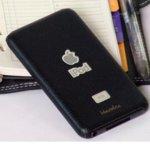 Страничен протектор HardCE iMAT II, черен, кожен (естествена кожа), за iPod Touch 2 + скрийн протектор и кърпичка за почистване image