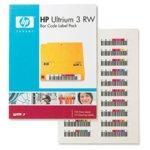 HP LTO3 Ultrium RW Bar Code label pack (110 pack) image