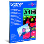 ХАРТИЯ BROTHER BP-71 A4 PREMIUM GLOSSY PHOTO PAPER - A4 - 260gr. - P№ BP71GA4 - заб.: 20л. image