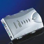 "KVM Switch ROLINE 14.99.3298, ""Pocket"", 1x User - 4 PCs, аудио image"