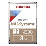 "8TB Toshiba X300, SATA 6Gb/s, 7200 rpm, 128MB, 3.5"" (8.89cm), Bulk image"
