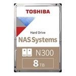 """Твърд диск 8TB Toshiba X300, SATA 6Gb/s, 7200 rpm, 128MB, 3.5"""" (8.89cm), Bulk image"""