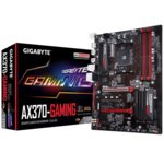 Дънна платка Gigabyte GB AX370-GAMING, X370, AM4, DDR4, PCI-E (HDMI), 8x SATA 6Gb/s, 1x M.2 Socket, 2x USB 3.1 Gen 2, ATX image