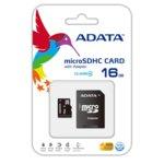 16GB microSDHC, A-Data +SD адаптер, Class4 image