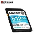 512G SD KINGSTON CANVAS GO+