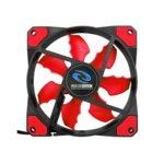 Вентилатор 120 mm, Raidmax NV-R120TP, 3/4-pin, 2000 rpm, черен/червен image