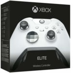 Геймпад Microsoft Xbox One Elite, безжичен, за PC/Xbox One, бял image