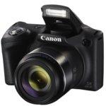 "Canon PowerShot SX430 IS(черен) + Sony 64GB Micro SD UHS-I U1, 45x оптично увеличение, 20.5 Mpix, 3.0"" (7.62cm) TFT дисплей, Wi-Fi, SD/SDHC/SDXC слот, USB Micro-B  image"