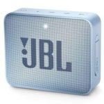 Тонколона JBL GO 2, 1.0, 3W RMS, 3.5mm jack/Bluetooth, светлосиня, до 5 часа работа, IPX7 image