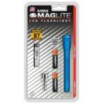 Фенер Mini MAGLITE LED, 2x батерии ААА, 87lm, водоустойчивост, блистер, син image