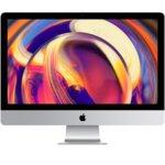 "All in One компютър Apple iMac (MRQY2ZE/A_Z0VQ00071/BG), 27"" (68.58 cm) 5K Retina дисплей, шестядрен Coffee Lake Intel Core i5-8500 3.0/4.10 GHz, AMD Radeon Pro 570X 4GB, 8GB DDR4, 1TB SSHD, 2x Thunderbolt 3, клавиатура и мишка, macOS Mojave image"
