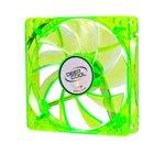 Вентилатор 120mm, DeepCool Xfan 120U G/B, Green LED, 1300rpm image