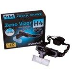 Лупа за глава Levenhuk Zeno Vizor H4, 20x увеличение, светодиодна лампа image