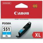 Касета за Canon PIXMA iP7250/MG5450/MG6350 - CLI-551C-XL - Cyan - заб: 650k image