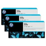 Мастило за HP DesignJet Z6200 - Light Gray - 771C - 3 Pack - P№ B6Y38A, 775ml image