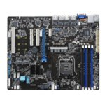 Дънна платка за сървър Asus P10S-E/4L, LGA1151, DDR4 UDIMM, 4x LAN + 1x Mgmt LAN, 8x SATA 6Gb/s, RAID 0,1,5,10, 2x USB 3.1 Gen1, 2x USB 2.0, ATX image