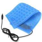 Клавиатура 6100, жична, гейминг, cиликонова, Различни цветове, USB image