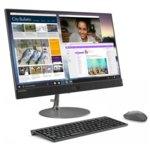 "All in One компютър Lenovo IdeaCentre AIO 730s (F0DX003TRI)(сив), четириядрен Kaby Lake R Intel Core i5-8250U 1.6/3.4 GHz, 23.8""(60.45cm) Full HD AG Touch Display & Radeon 530 2GB, (HDMI), 8GB DDR4, 256GB SSD, USB Type-C, мишка и клавиатура, Free DOS image"
