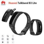 "Смарт гривна Huawei Band B3 Lite в комплект с Bluetooth слушалка Grus-B09, 0,91""(2.31 cm) дисплей, до 3.5 дни време на работа, Bluetooth, IP57, черно image"
