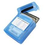 """Кутия 2.5"""" (6.35 cm) LogiLink Protection Box Blue, за 2 2.5"""" хард диска, син image"""