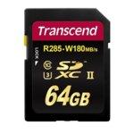 64GB SDXC, Transcend 700S, Class 10 UHS-II, скорост на четене 285 MB/s, скорост на запис 180 MB/s image
