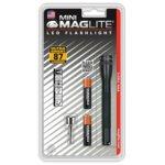 Фенер Mini MAGLITE LED, 2x батерии ААА, 87lm, водоустойчивост, блистер, черен image